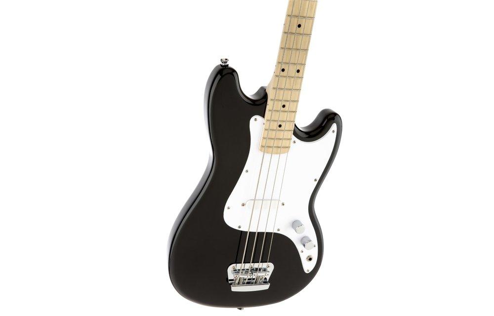 Squier Bronco Bass, Maple Fingerboard, Black