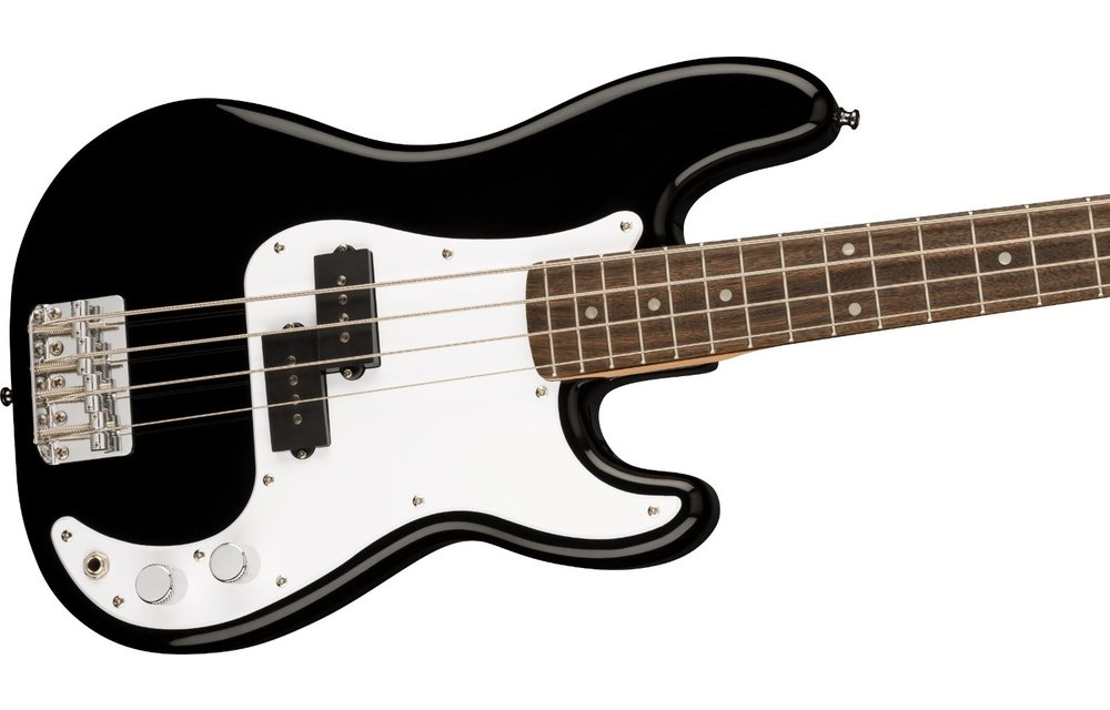 Squier Mini P Bass, Laurel Fingerboard, Black