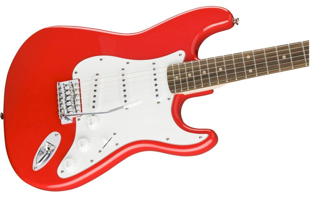Squier Affinity Series Stratocaster, Laurel Fingerboard, Race Red