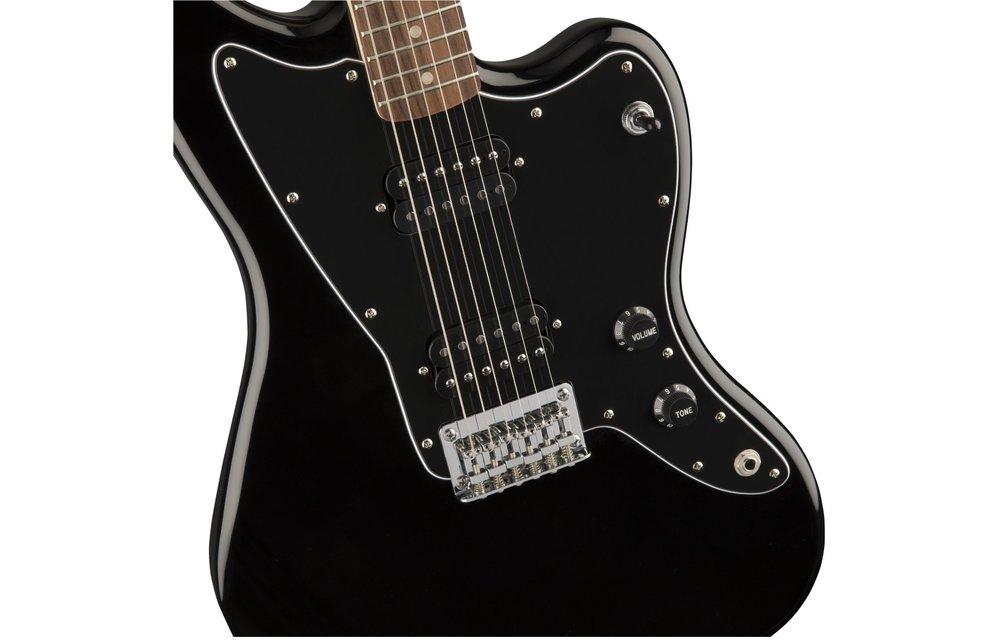 Squier Affinity Series Jazzmaster HH, Laurel Fingerboard, Black
