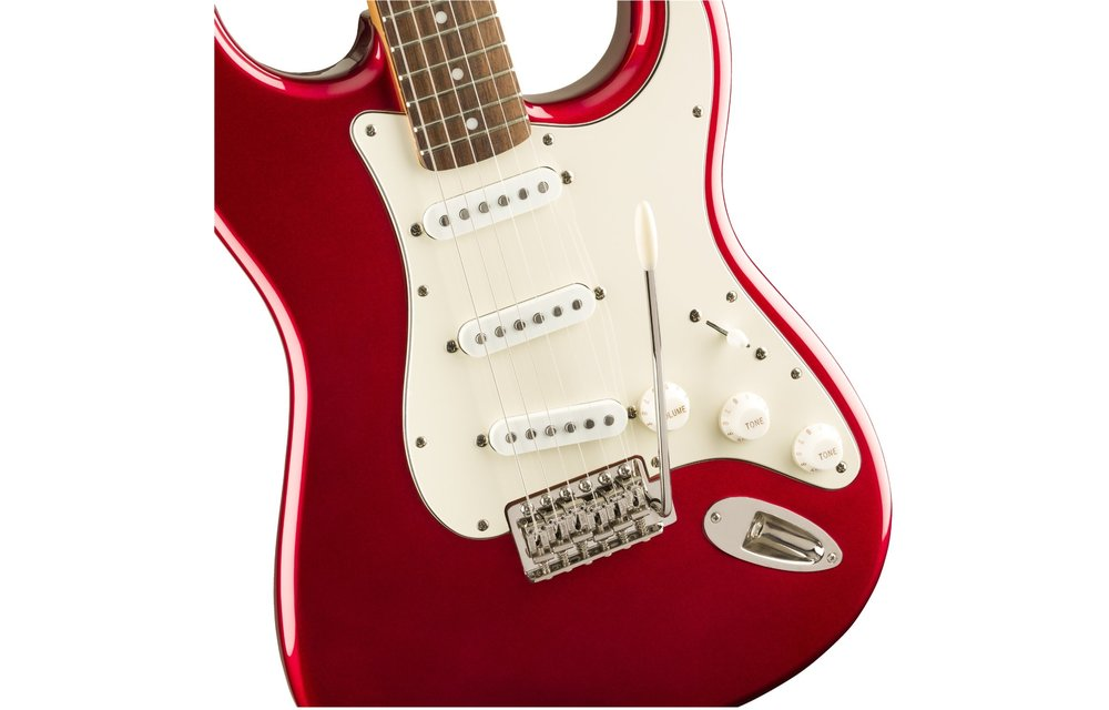 Squier Classic Vibe '60s Stratocaster, Laurel Fingerboard, Candy Apple Red