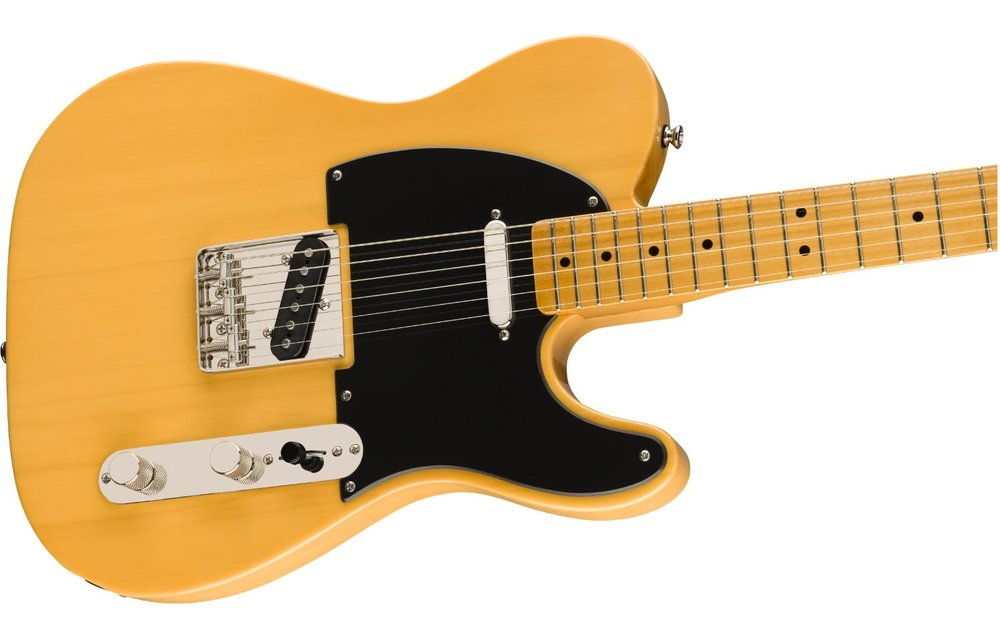 Squier Classic Vibe '50s Telecaster, Maple Fingerboard, Butterscotch Blonde