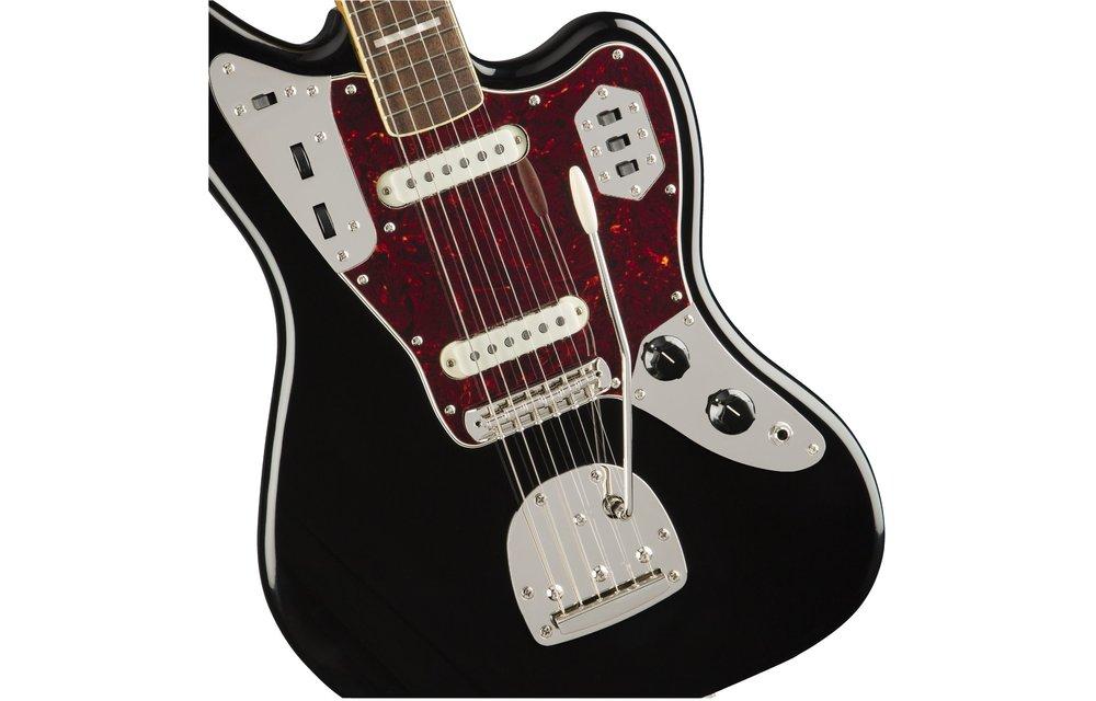 Squier Classic Vibe '70s Jaguar, Laurel Fingerboard, Black