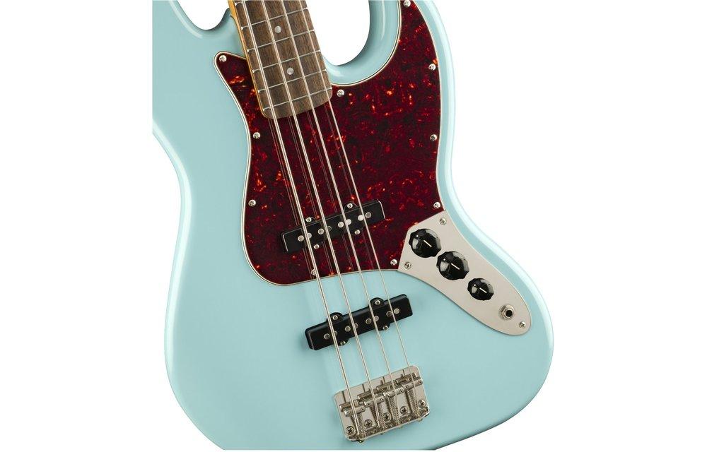 Squier Classic Vibe '60s Jazz Bass, Laurel Fingerboard, Daphne Blue