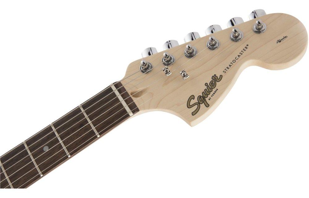 Squier FSR Affinity Series Stratocaster, Laurel Fingerboard, Shell Pink