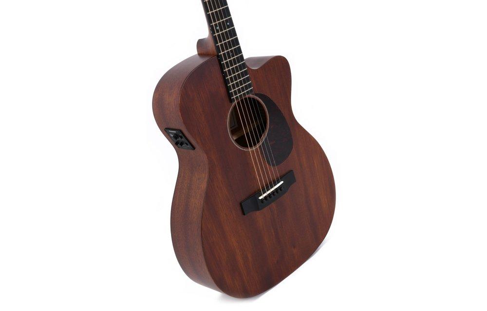 Sigma 000MC-15E All Mahogany Cutaway Electric Acoustic Guitar