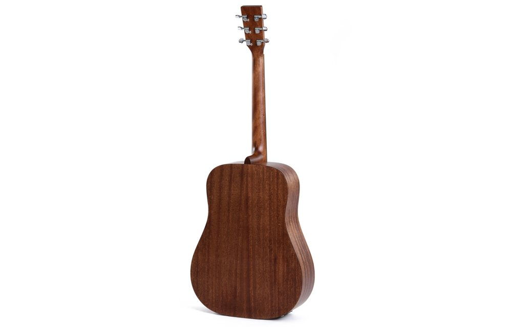 Sigma DMEL Left Handed Spruce/Mahogany Dreadnought Acoustic Guitar