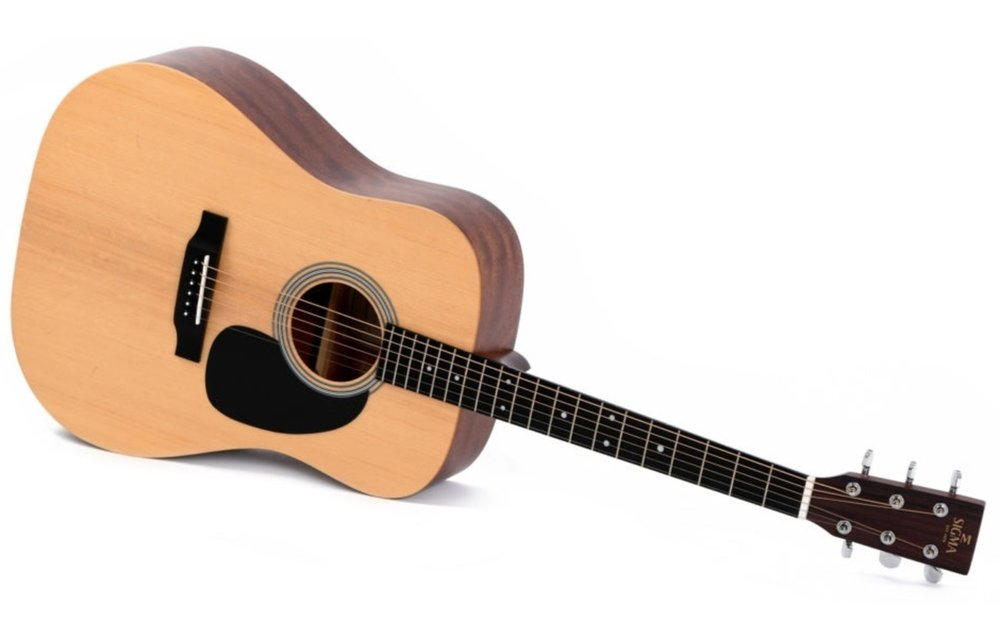 Sigma DM-ST Spruce/Mahogany Dreadnought Acoustic Guitar