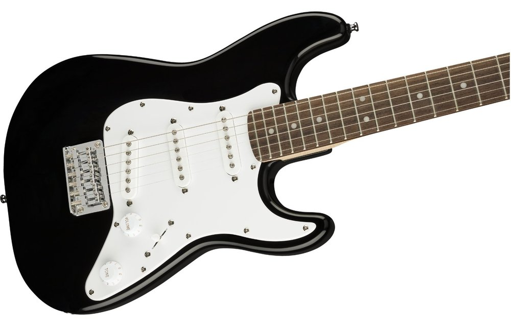 Squier Mini Stratocaster, Laurel Fingerboard, Black
