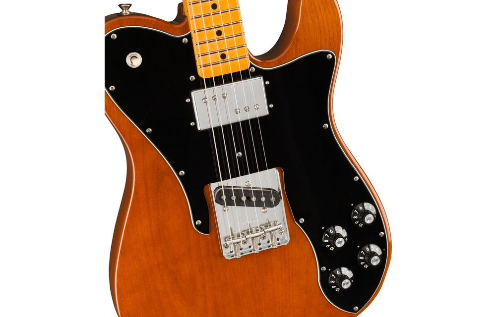 Fender American Original 70s Telecaster Custom, Maple Fingerboard, Mocha
