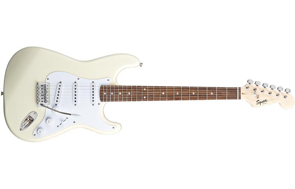 Squier Bullet Stratocaster, Laurel Fingerboard, Arctic White