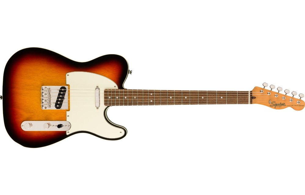 Squier Classic Vibe '60s Custom Telecaster, Laurel Fingerboard, 3-Color Sunburst