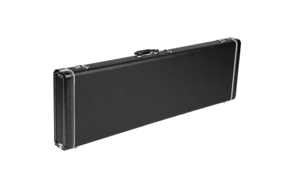 Fender G&G Jazz Bass/Jaguar Bass Standard Hardshell Case, Black with Black Acrylic Interior