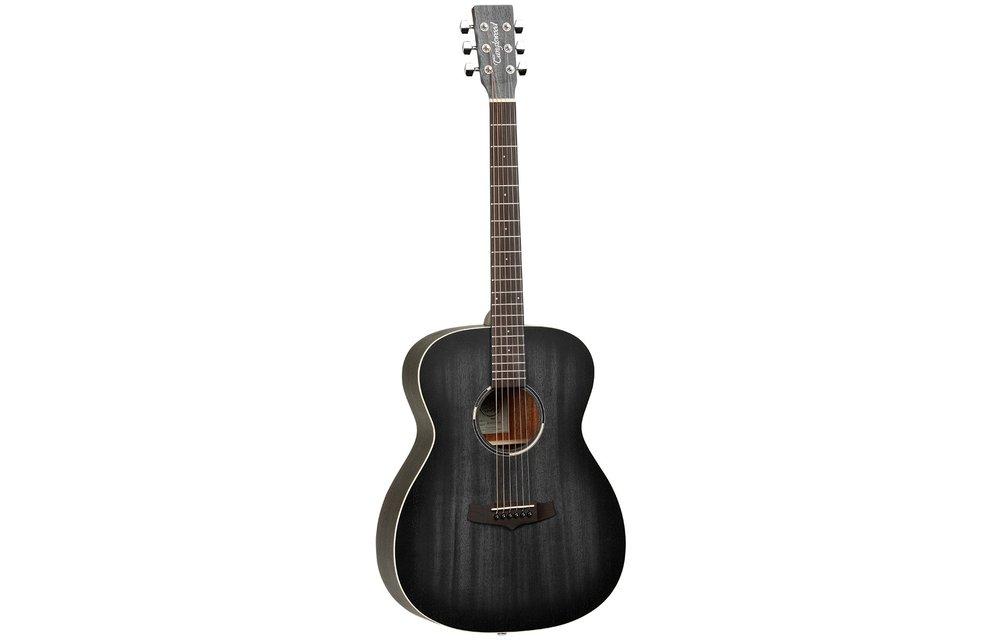 Tanglewood TWBBO Blackbird Orchestra Acoustic Guitar, Smokestack Satin
