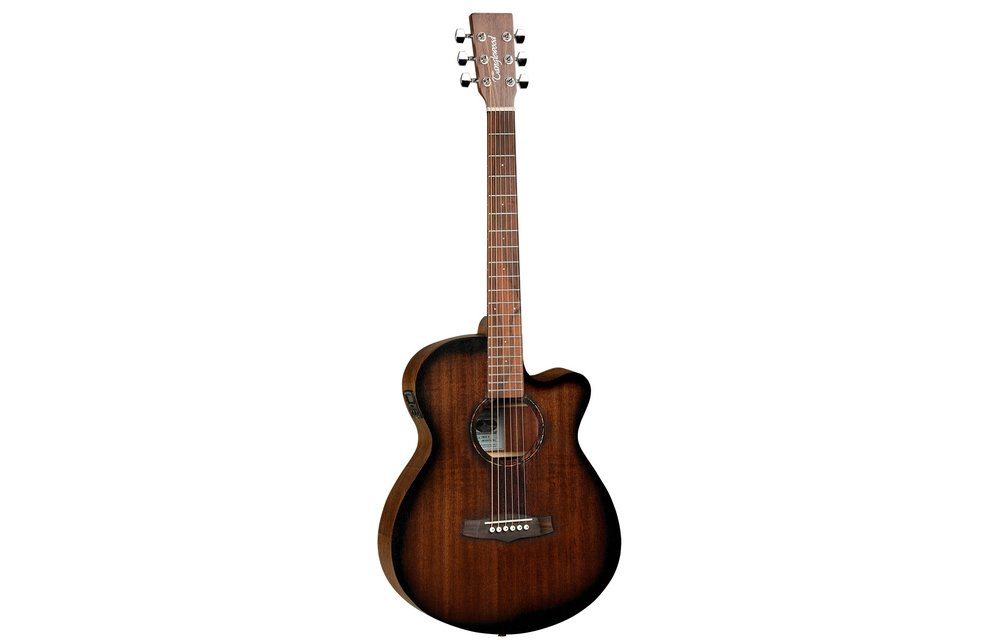 Tanglewood TWCRSFCE Crossroads SuperFolk C/E Vintage Satin Electric Acoustic Guitar