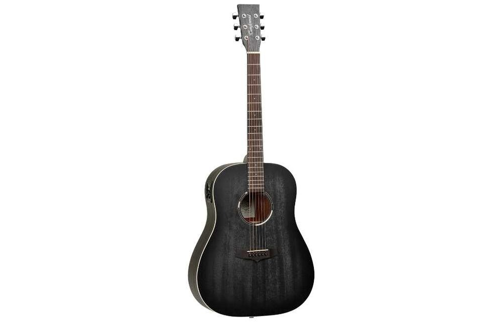 Tanglewood TWBBSDE Blackbird Dreadnought Electric Acoustic Guitar, Smokestack Satin