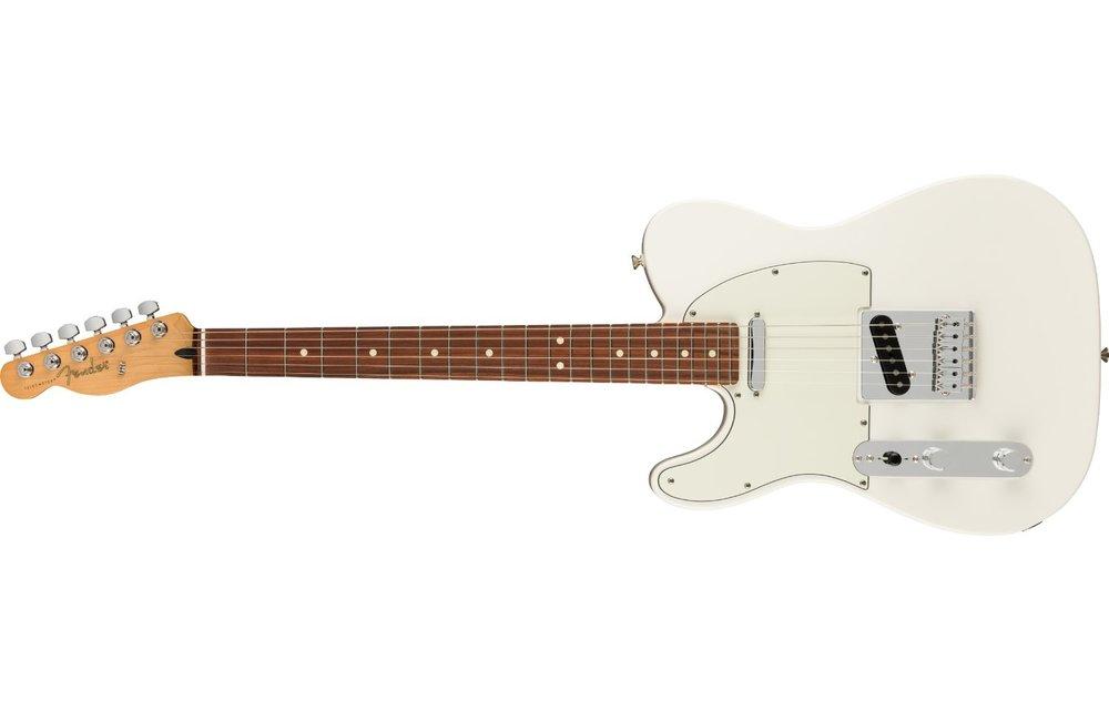 Fender Player Telecaster Left-Handed, Pau Ferro Fingerboard, Polar White