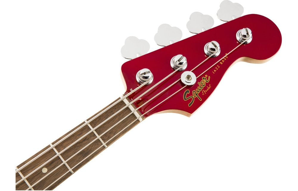 Squier Contemporary Jazz Bass, Laurel Fingerboard, Dark Metallic Red