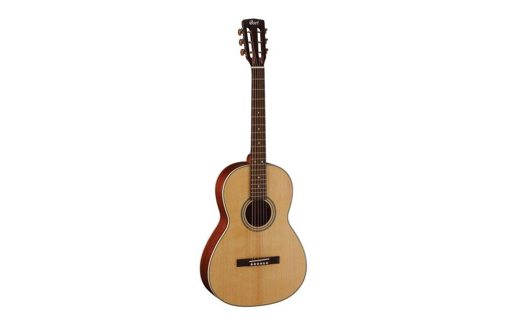 Cort L100P, Parlour size Acoustic Guitar, Natural Satin