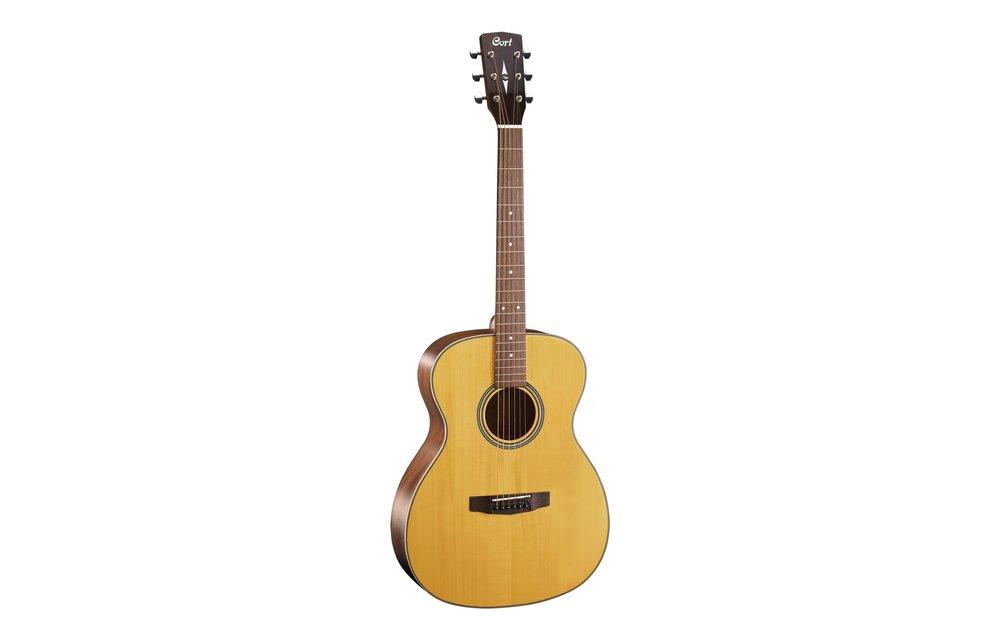 Cort L100-O, OM Size Acoustic Guitar, Natural Satin