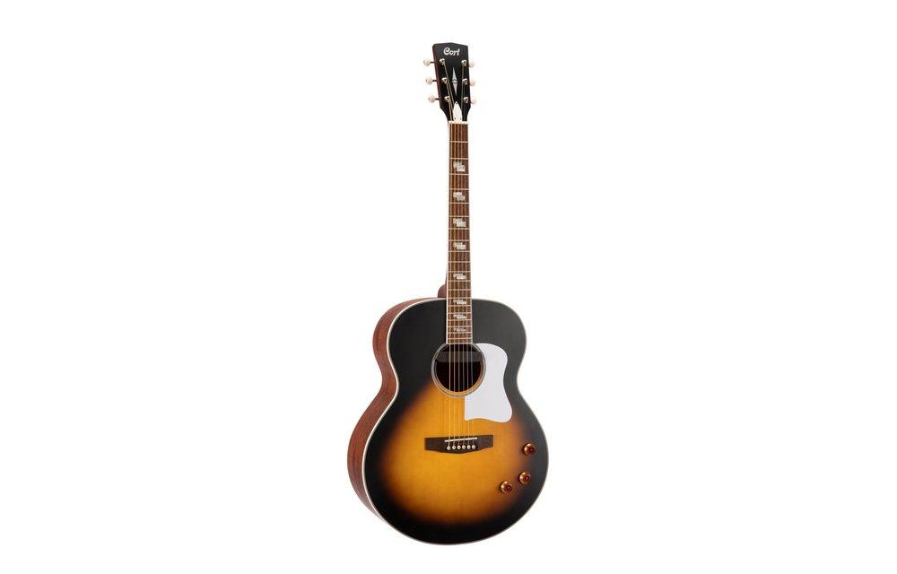 Cort CJ-RETRO VSM Matt Vintage Jumbo size Acoustic Guitar
