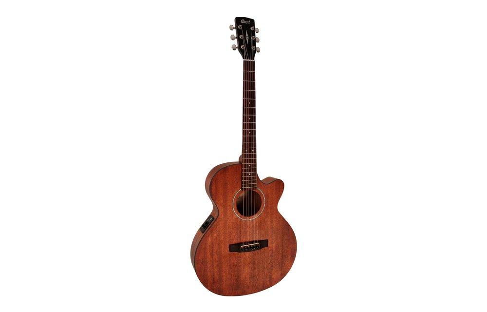 Cort SFX-MEM All Mahogany Open Pore Electric Acoustic Guitar