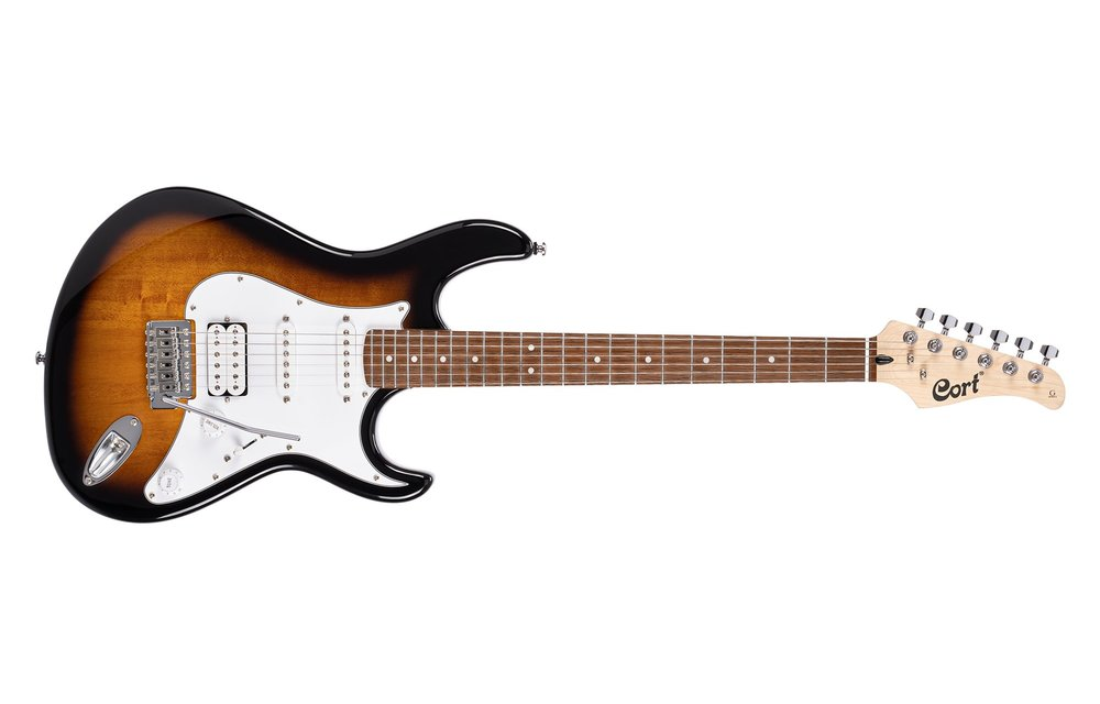 Cort G110 G Series Electric Guitar, 2 Tone Sunburst