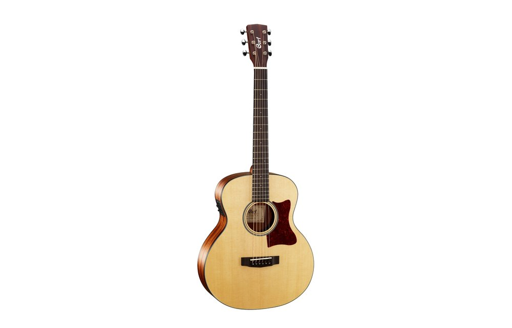 Cort Little CJ, 3/4 Size Jumbo, Electric Acoustic Guitar, Natural