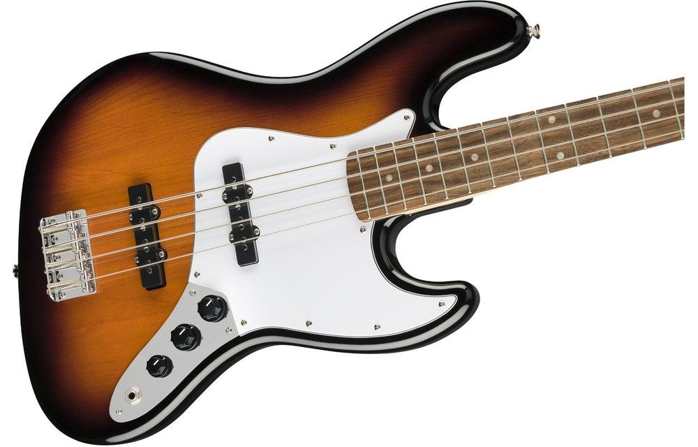 Squier Affinity Series Jazz Bass, Laurel Fingerboard, Brown Sunburst
