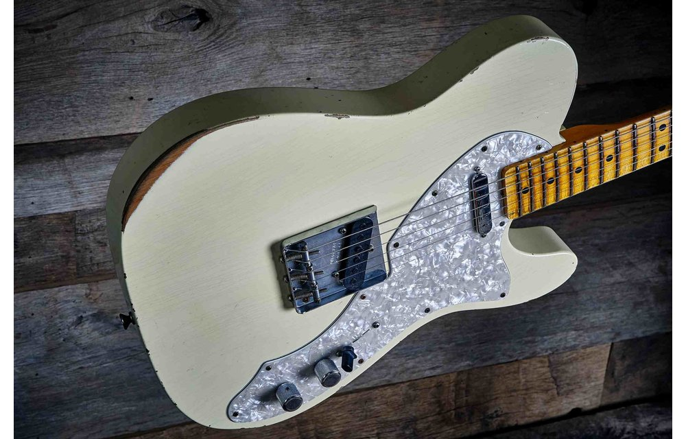 Fender Custom Shop Limited Edition 1969 Telecaster Special, Relic, Aged Vintage White