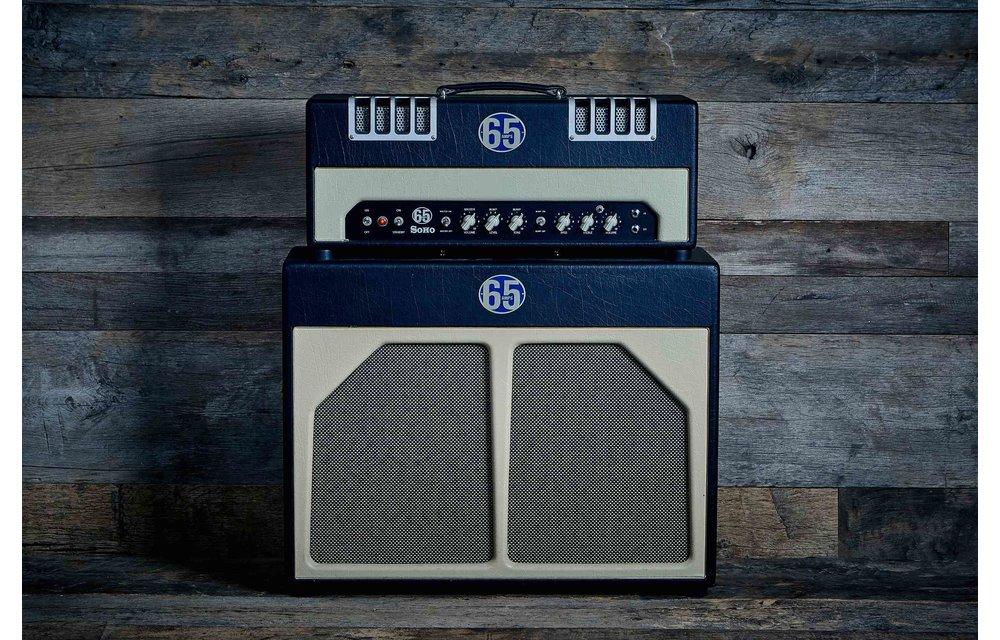 65 Amps Soho Head & 2x12 Cab