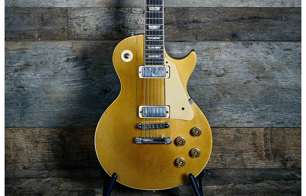 Gibson Les Paul Deluxe Goldtop 1979