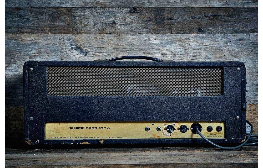 Marshall JMP Super Bass 1974 Head
