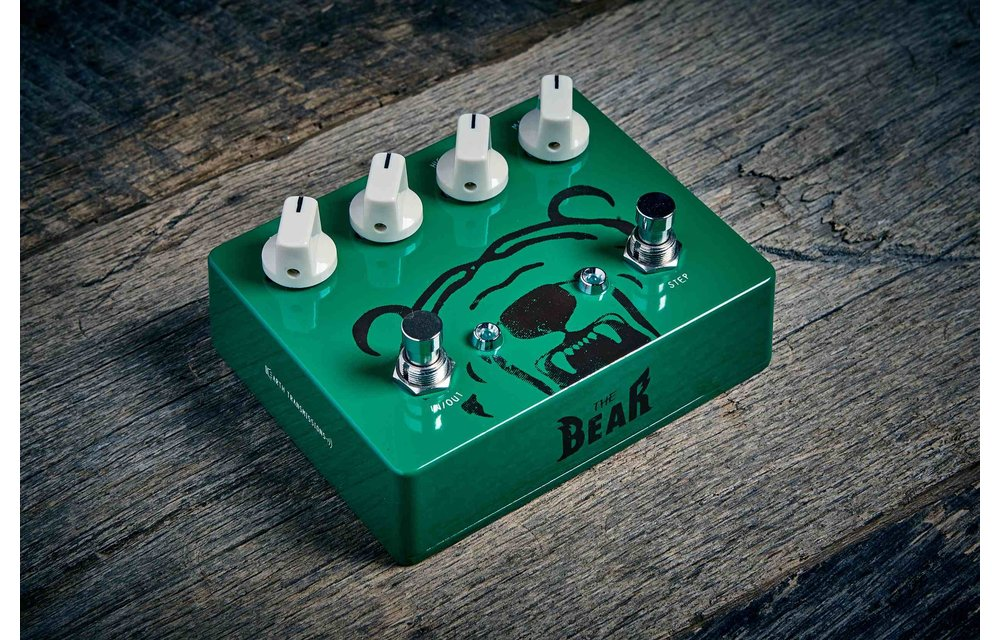 Earth Transmissions The BeaR Overdrive, Green