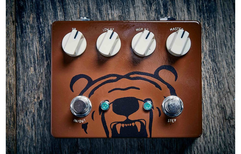 Earth Transmissions The BeaR Overdrive, Brown