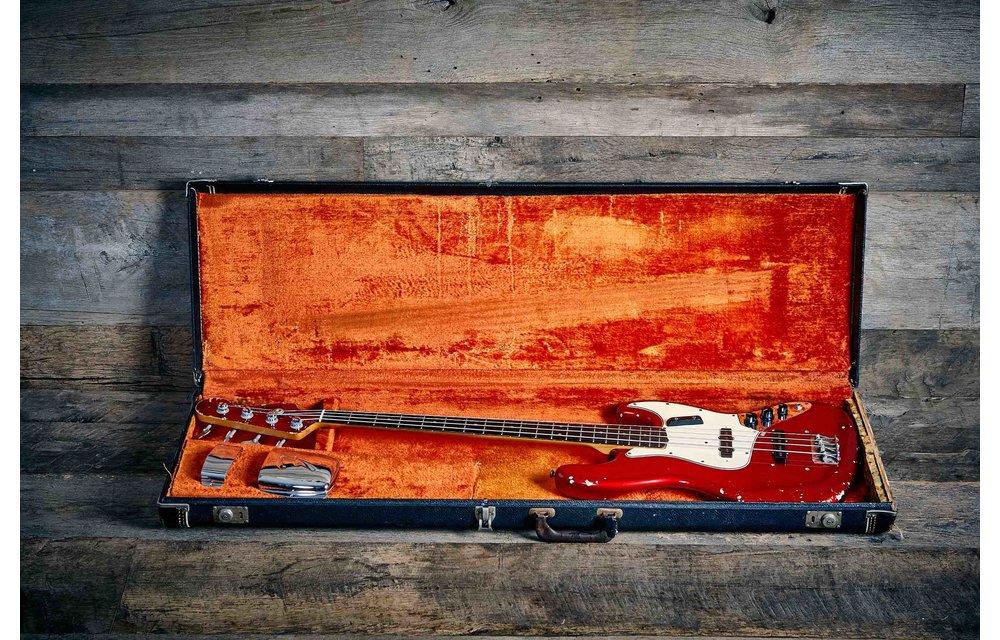 Fender Jazz Bass 1965, Candy Apple Red