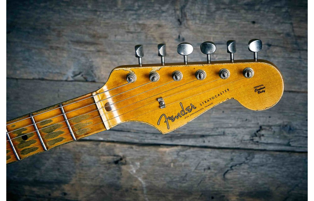 Fender Custom Shop Limited Edition '56 Stratocaster, Super Heavy Relic, Dirty Shell Pink