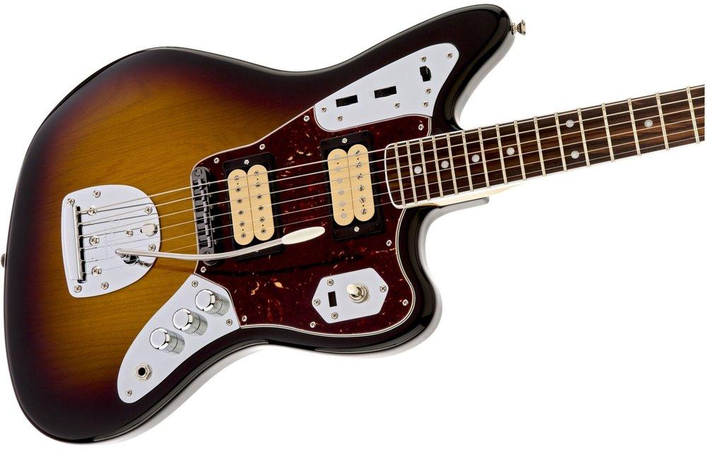 Fender Kurt Cobain Jaguar, Rosewood Fingerboard, 3-Color Sunburst