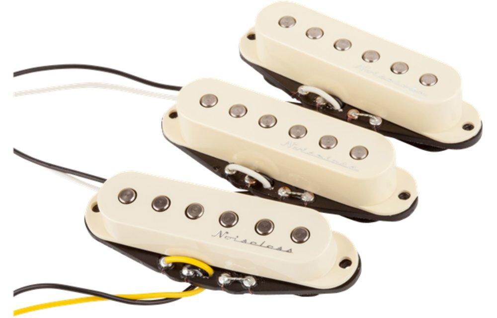 Fender Hot Noiseless Stratocaster Pickup Set