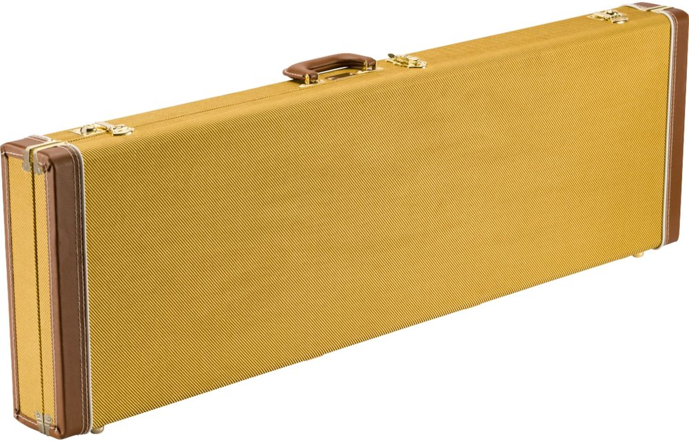 Fender Classic Series Wood Case - Precision Bass/Jazz Bass, Tweed