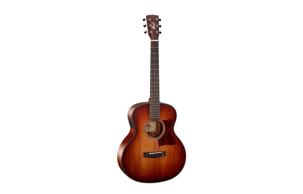 Cort Little CJ, 3/4 Size Jumbo, Electric Acoustic Guitar, Blackwood