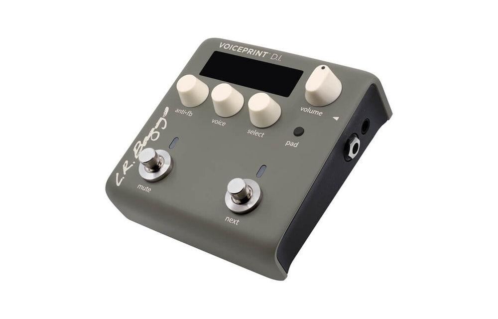 LR Baggs Voiceprint DI Guitar Pedal for Apple iOS