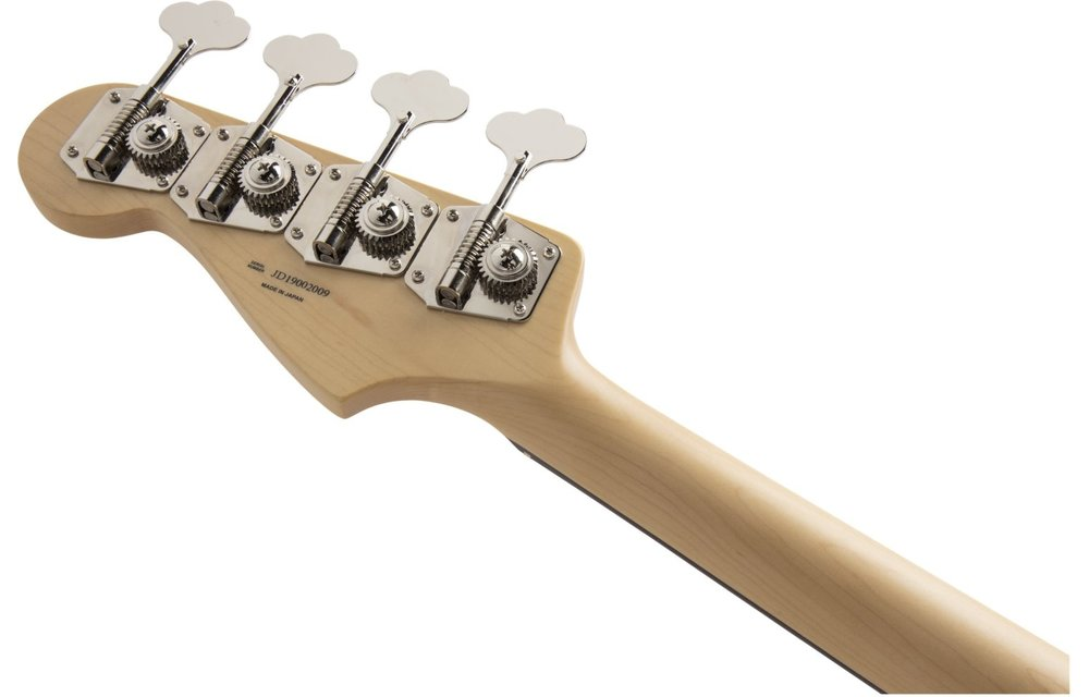 Fender Made in Japan Hybrid Jazz Bass, Rosewood Fingerboard, Sherwood Green Metallic