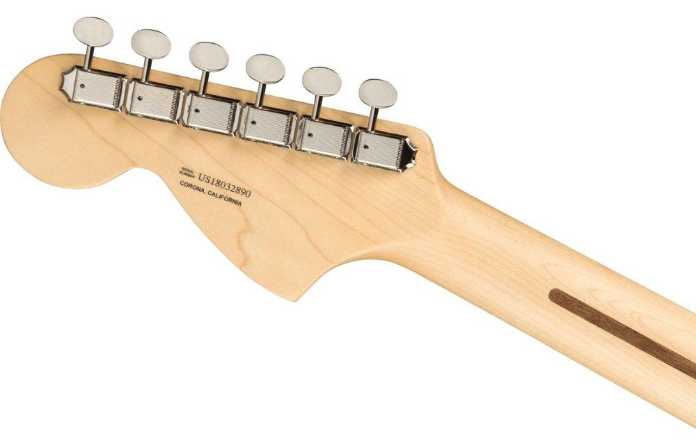 Fender American Performer Stratocaster, Maple Fingerboard, Satin Lake Placid Blue