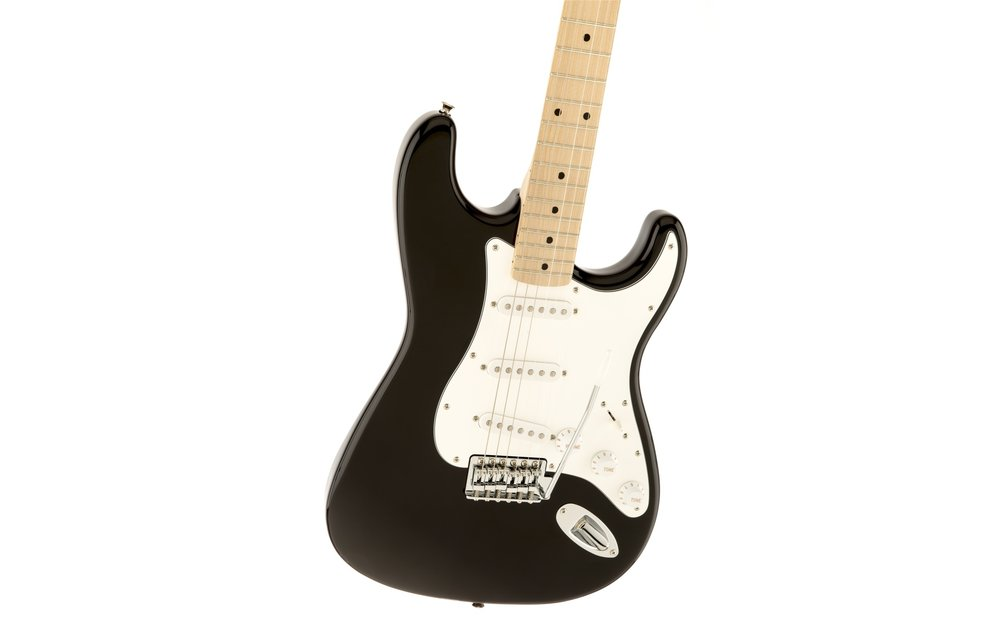 Squier Affinity Series Stratocaster, Maple Fingerboard, Black