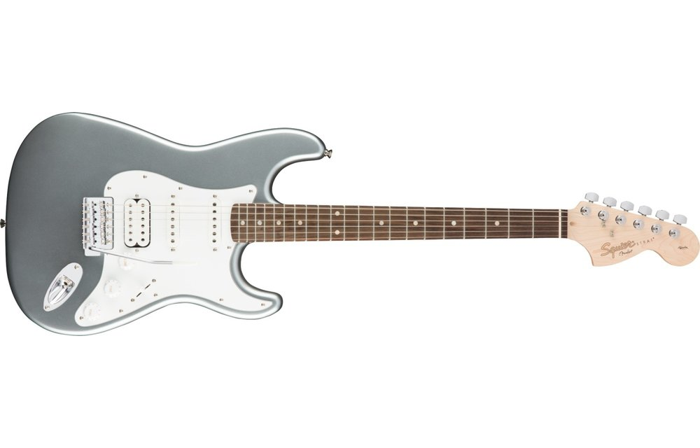 Squier Affinity Series Stratocaster HSS, Laurel Fingerboard, Slick Silver