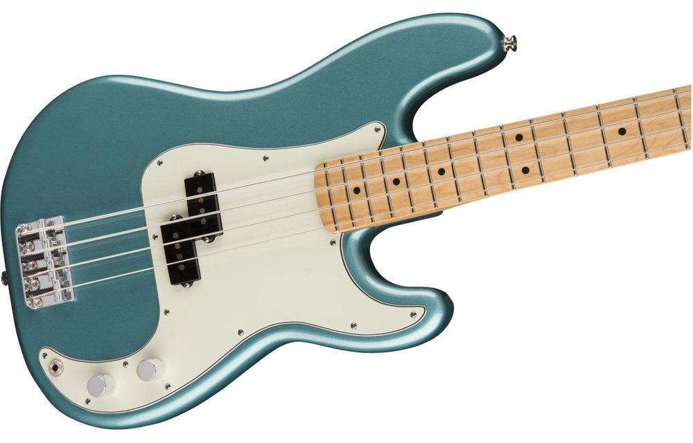 Fender Player Precision Bass, Maple Fingerboard, Tidepool