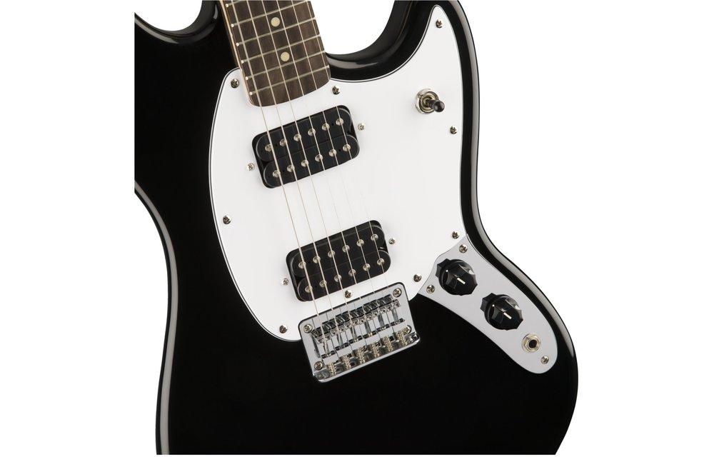 Squier Bullet Mustang HH, Laurel Fingerboard, Black