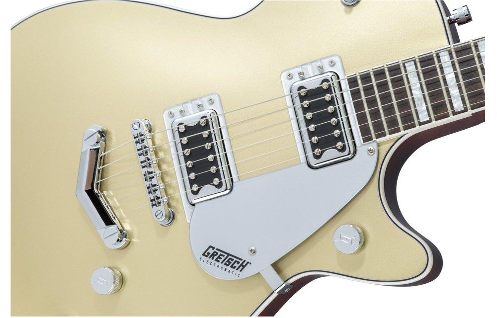 Gretsch G5220 Electromatic Jet BT Single-Cut with V-Stoptail, Black Walnut Fingerboard, Casino Gold