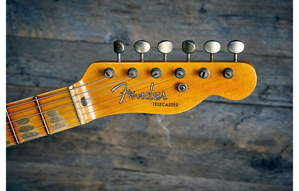 Fender Custom Shop Telecaster, Limited Edition Cunife Blackguard Heavy Relic, Aged Butterscotch Blonde